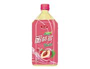 喜太郎蜜桃多果味饮料1L