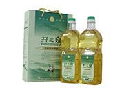 纯山茶油1.6升×2礼盒简装