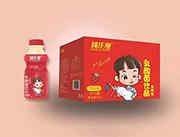 纯乐康乳酸菌饮品草莓味340gX12瓶