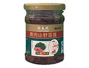 鹿肉山野菜酱180克-辣春妮