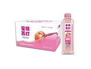 蜜桃苏打果味饮料400mlX24瓶