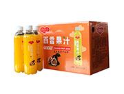 恋爱果实百香果汁益生菌果汁饮料480mlX15支