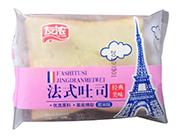 友浓经典美味紫米味法式吐司称重