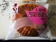 安瑞嘉尔甜甜圈面包黑米味100g