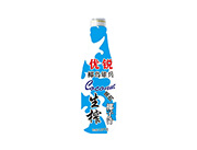 优锐椰岛雄兵生榨果肉椰子汁1.25kg(正面)