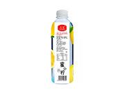 蜜小柠水蜜桃味果味饮料500ml(背面)