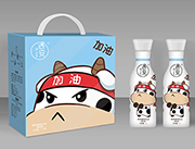遇安加油果肉型原味酸奶饮品1L×6瓶