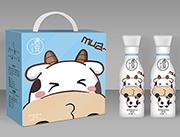 遇安mua果肉型原味酸奶饮品1L×6瓶