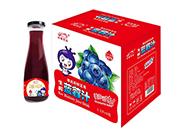 中奥饮品生榨蓝莓汁1.5L×6瓶