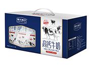 新北冰洋高钙牛奶250ml×12盒开窗礼盒