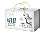 新北冰洋纯牛奶250ml×12盒