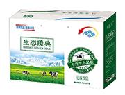 杞润元中低脂低糖生态臻典乳味饮品250ml×12盒