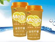 华凯兴金桔柠檬果汁茶味果冻418ml