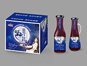 蓝莓汁饮料箱装