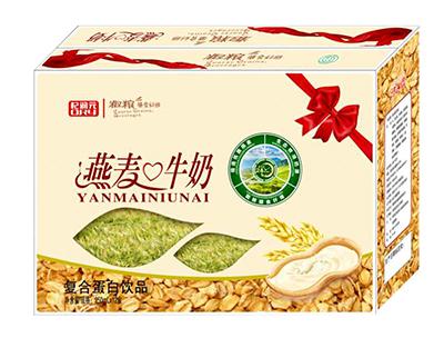 杞润元燕麦牛奶复合蛋白饮品250ml×12盒