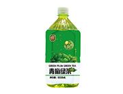 东皇太一青梅绿茶饮料1000ml