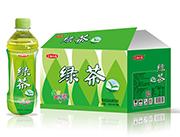 五福小镇绿茶茉莉花味茶饮料500ml×15瓶