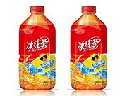 五福小镇冰红茶柠檬味红茶饮料1L