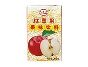 九里源红苹果果味饮料250ml