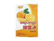 九里源鲜橙汁果味饮料250ml