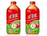 五福小镇红苹果果味饮料1L