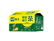 慧友蜂蜜柚子茶�品250ml箱�b