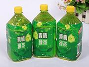 心悦动青梅绿茶饮料1L