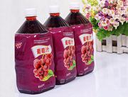 心悦动葡萄汁饮料1L