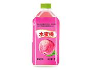 心悦动水蜜桃果味饮料1L