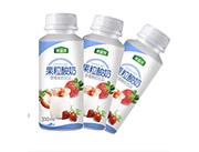 澳益淳草莓酸奶饮品