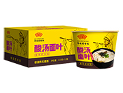 华味坊紫菜虾米味菌汤面叶110g×12桶