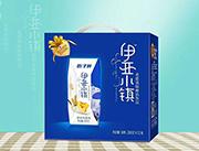 伍子醉伊亚小镇黄桃燕麦味希腊酸奶饮品200g×12盒