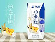 伍子醉伊亚小镇黄桃燕麦味希腊酸奶饮品200g