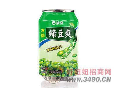 米奇冰糖绿豆爽谷物饮料310ml