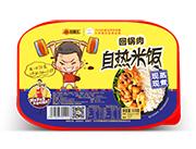 旺福王回锅肉现蒸现煮自热米饭330g