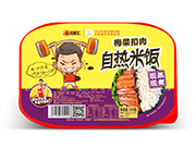 旺福王梅菜扣肉现蒸现煮自热米饭330g