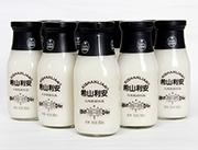 希山利安原味玻璃瓶酸奶�品300ml