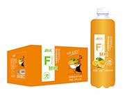 宜泉鲜橙益生菌发酵复合果汁饮料1.08L×8瓶