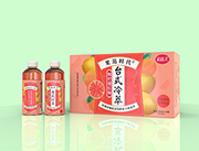 果范时代鲜柠檬红柚复合果汁茶味饮品