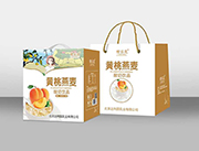 黄桃燕麦杀菌性酸奶饮品手提装