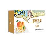 黄桃燕麦杀菌性酸奶饮品箱装