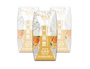 黄桃燕麦杀菌性酸奶饮品