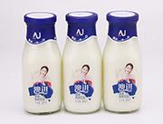 网盟彩票快三原味酸奶飲品玻璃瓶300g