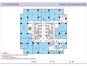 天津海河假日酒店6楼平面图