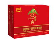 沁名山蜂蜜柚子茶果味茶饮料310ml×24罐