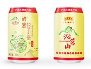 沁名山蜂蜜柚子茶果味茶�料310ml