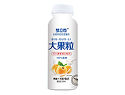 梦立方大果粒黄桃燕麦酸奶饮品310ml