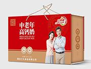 烟台三九无蔗糖中老年高钙奶250ml×12盒
