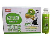 星启动益生菌发酵猕猴桃果汁饮料500ml×15瓶