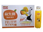 星启动益生菌发酵芒果果汁饮料500ml×15瓶